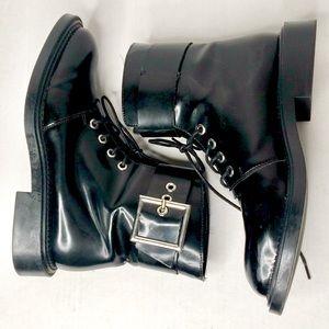 Zara Trafaluc Doc Martens Style Boots